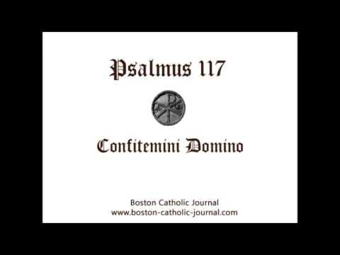 Psalm 117 in Latin