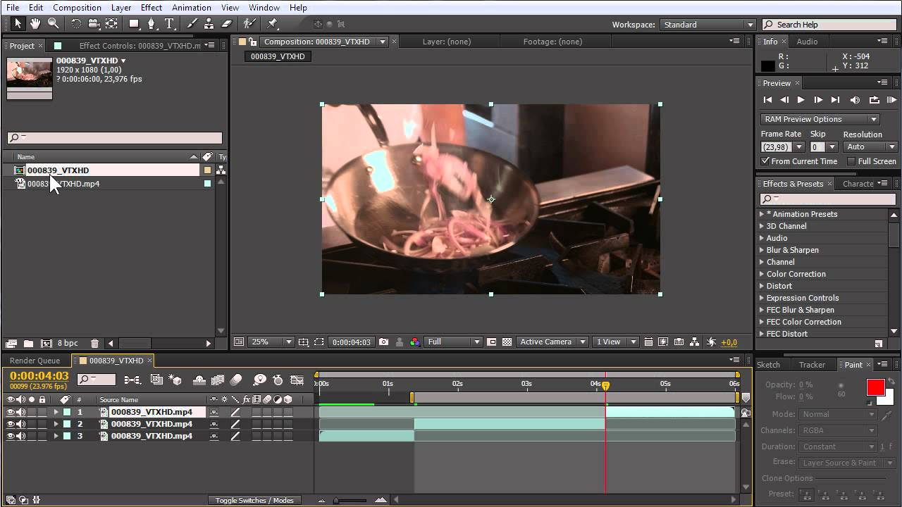 How to Cut Video in Adobe After Effects - YouTube