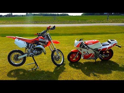 Honda Cr 85 vs Yamaha Ysr 50!!!