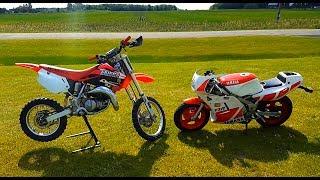 Video Honda Cr 85 vs Yamaha Ysr 50!!! download MP3, 3GP, MP4, WEBM, AVI, FLV Januari 2018