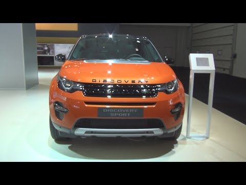 Land Rover Discovery Sport 2.0 Si4 Phoenix Orange (2015) Exterior and Interior