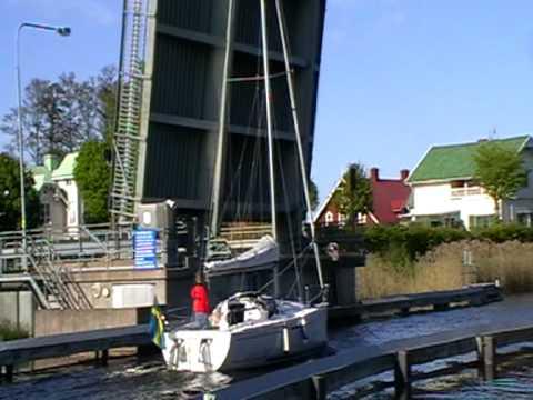 Karlsborg Brücke Götakanal mit HP