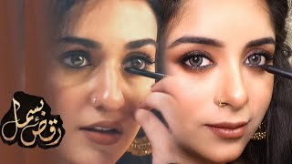 "Raqs-e-Bismil  Sarah Khan ""Zohra Makeup Tutorial -Step by Step !!!"