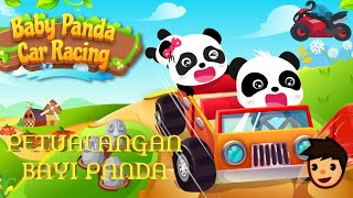 Petualangan Baby Panda Mengemudi mobil baru