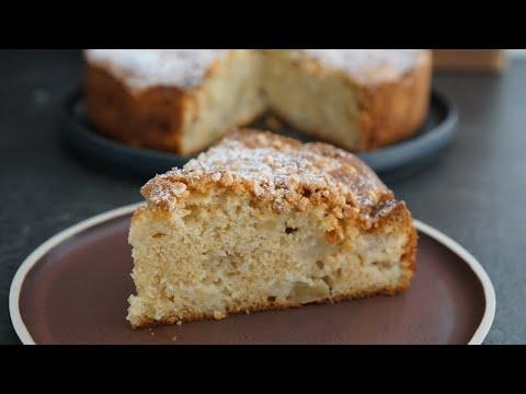 recette-gâteau-pommes-et-poires-de-grand-mère-bien-moelleux