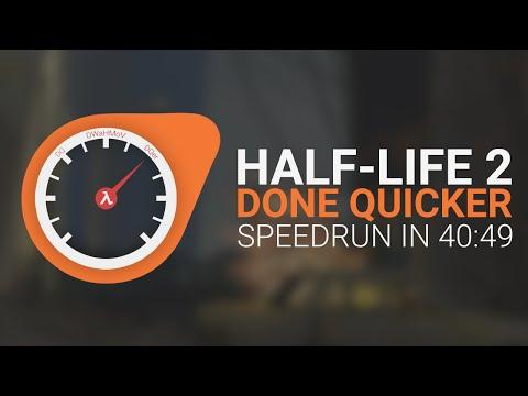 Half-Life 2 Done Quicker - HL2 Speedrun in 40:49 - WR