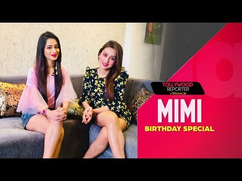 Mimi Chakraborty Birthday Special   Tollywood Reporter in 120 Seconds   Sangeet Bangla