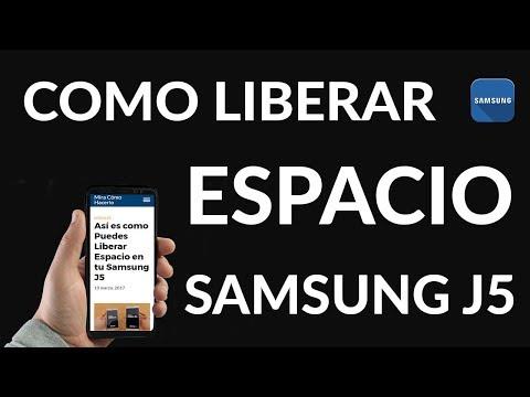 Así es como Puedes Liberar Espacio en tu Samsung J5