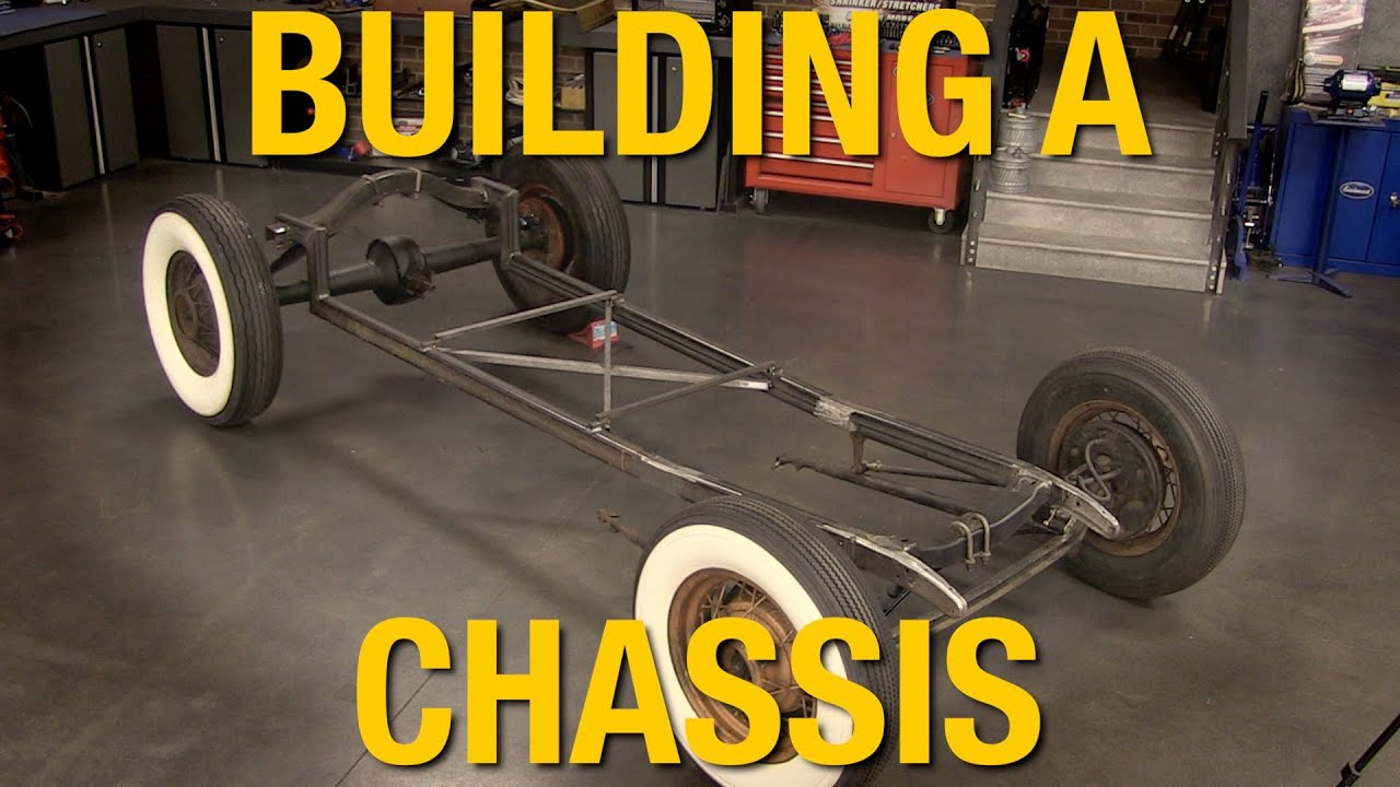 how to fabricate a chassis building a model a hot rod with eastwood [ 1280 x 720 Pixel ]