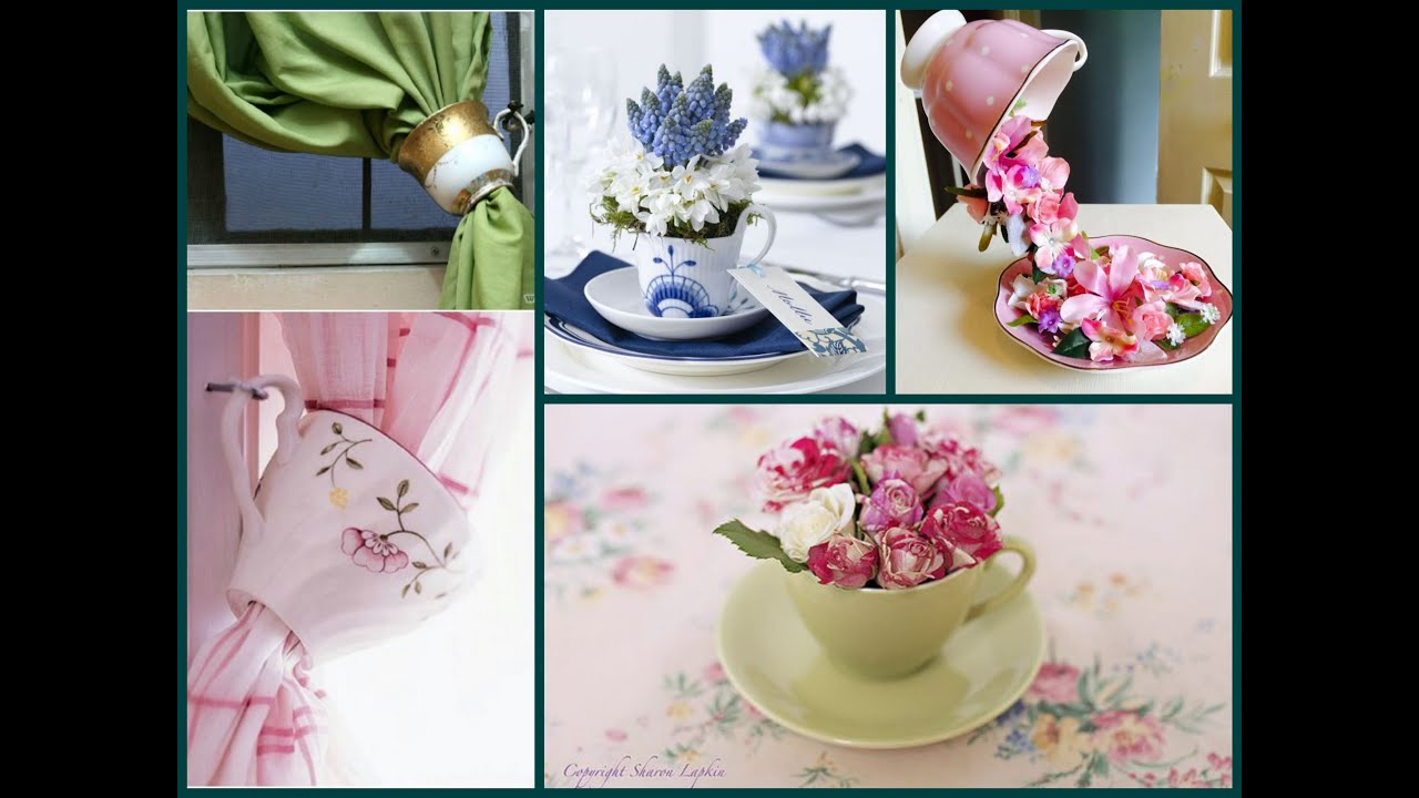 Diy Recycled Old Tea Cups Ideas Teacup Crafts Ideas