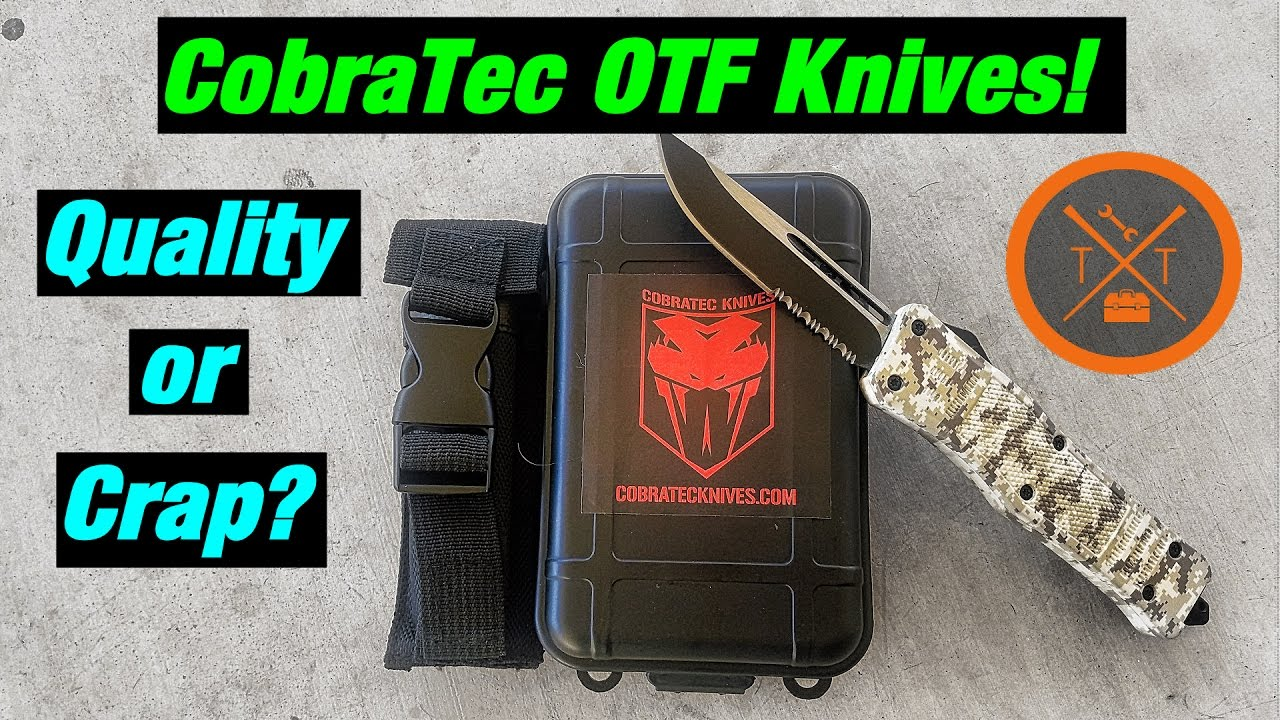 Cobratec Knives: A Poor Man's Microtech OTF? w/Coupon Code!