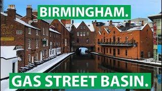 Gas Street Canal Basin: Frühstücken und Ausgehen in Birmingham | fernwehsendung.clip