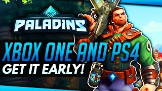 Paladins | How to Get Beta Acess  Early (Xbox One + PS4)