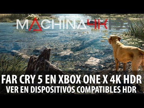 Test HDR #01 FAR CRY 5 en Xbox One X 4k HDR ACTIVO 60fps interpolados