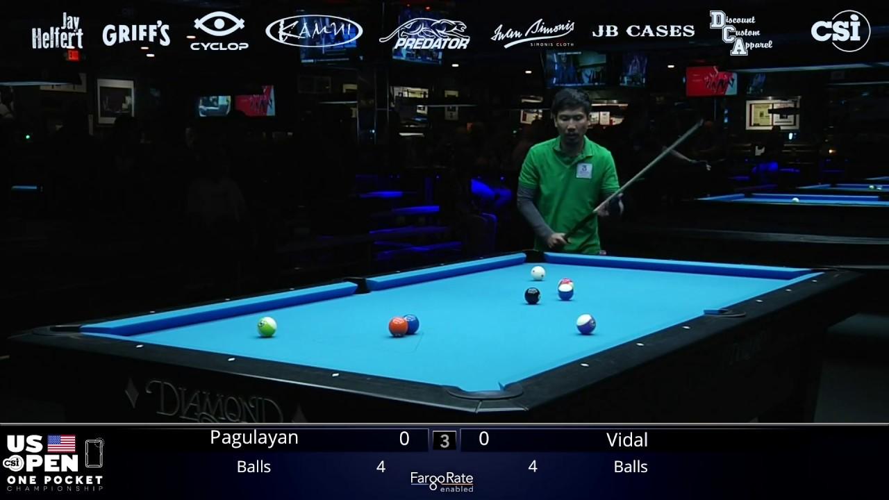 GREAT ESCAPE: Alex Pagulayan vs Marc Vidal Claramunt | 2019 US Open One Pocket Championship