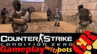 Counter-Strike: Condition Zero gameplay with Hard bots - Dust 2 - Terrorist