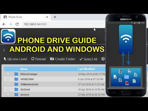 Phone Drive Wireless File Transfer Android And Windows PC Guide