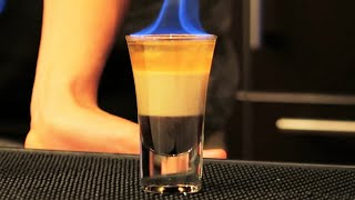 Flaming B-52 Shot with Alex Wassabi