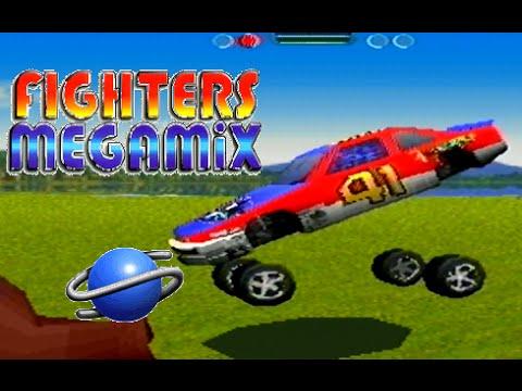 Fighters Megamix playthrough (SEGA Saturn)