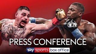 LIVE PRESS CONFERENCE! Andy Ruiz Jr vs Anthony Joshua II | The Rematch | December 7