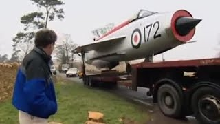 Jeremy's jet fighter garden feature | Speed | BBC thumbnail