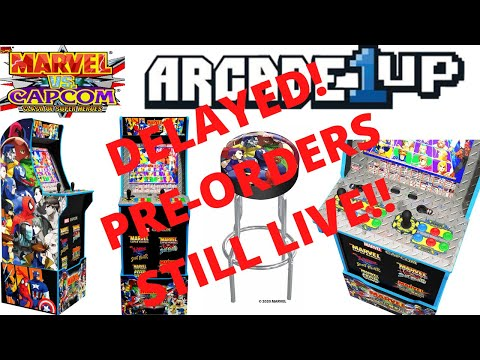 Arcade1up: Marvel vs Capcom delayed to November! Still plenty of pre-orders left! from PsykoGamer
