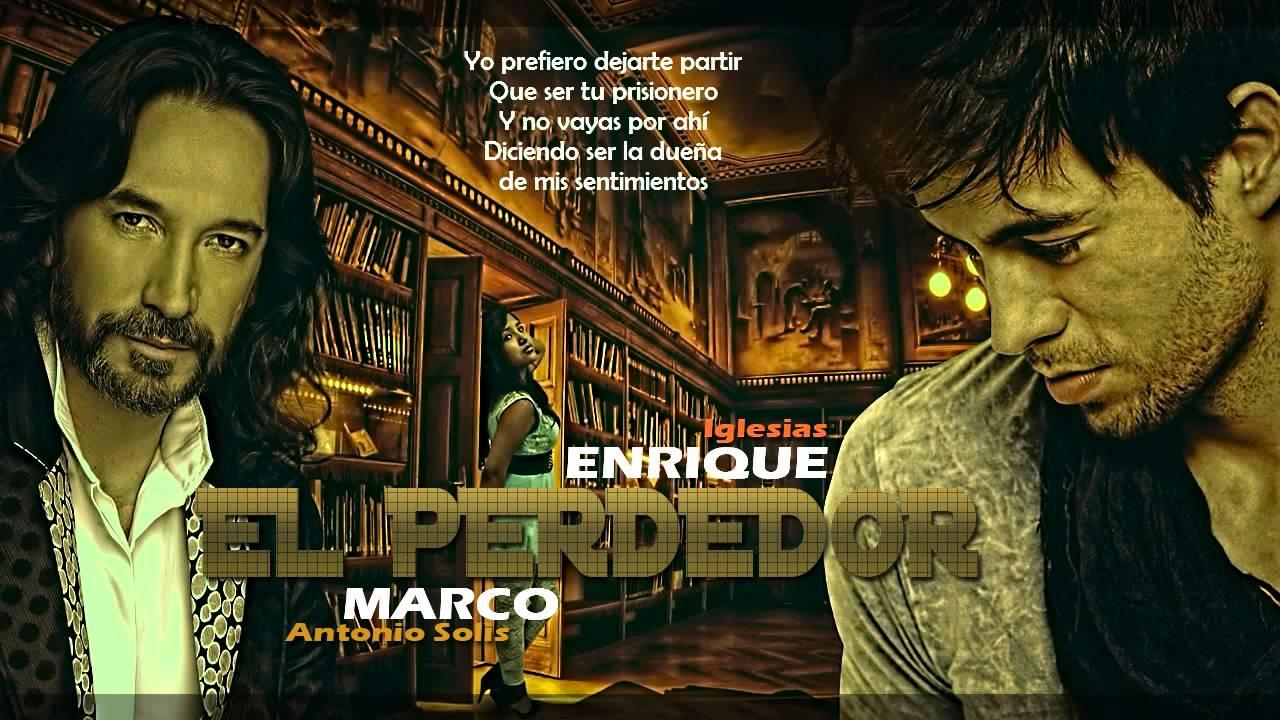 Enrique Iglesias - El Perdedor (Pop Version) Ft. Marco ...