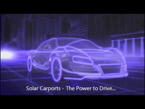 Solar Carports - Electric Car & PHEV Solar Charging Solutions
