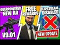 *NEW* Fortnite Update *RIGHT NOW* |  NEW TACTICAL ASSAULT RIFLE & FREE REWARDS (Patch Notes v9.01)