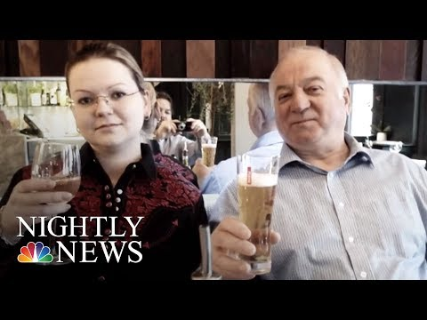 Ex-Russian Spy And Daughter Likely Exposed To Poison On Their Front Door   NBC Nightly News