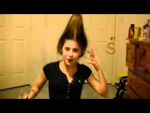 Jimmy Neutron Hair Tutorial Done By My Sister