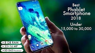 Phablet Smartphones 2018