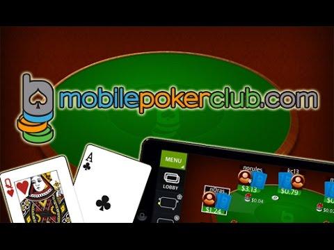Мобильный покер Mobile Poker Club для Android