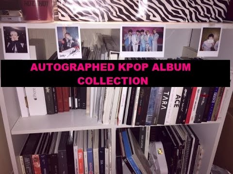 Autographed Kpop Album Collection May 2015