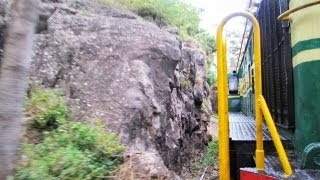 Nilgiri Mountain Railway GOC YDM4 entering Tunnel in drizzling weather before Ketti