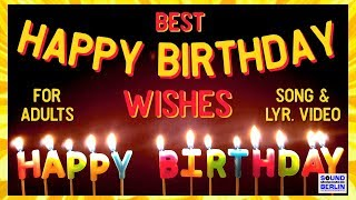 Happy Birthday Song for adults ❤️New Good Wishes Happy Birthday Song 2021 Birthday Wishes WhatsApp