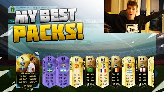 FIFA 16 MY BEST EVER PACKS - With Reacting to them lol...