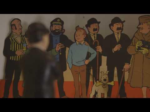 Hergé & Magritte à Paris
