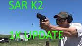 Sar Arms (sasilmaz) K2P 9mm camo and holster  - YouTube