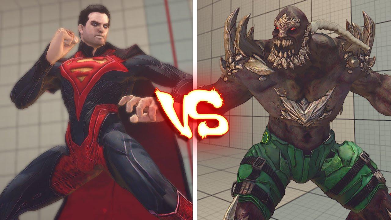 Ultra Street Fighter 4 Pc Superman Vs Doomsday Youtube