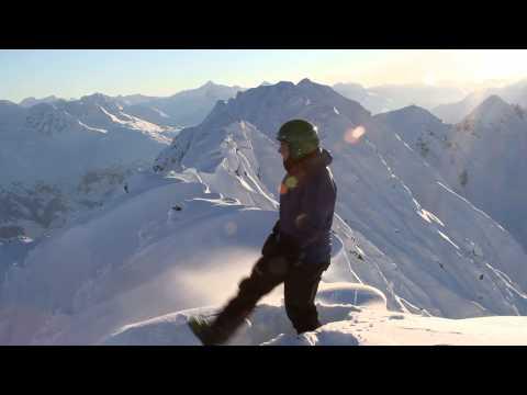 Best early-winter skiing ever! Chugach Mountains, Alaska