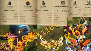 Clash of Kings Defending Bereg64 Solo's and Rallies in Mineral Veins K408 K1164 K62 K493
