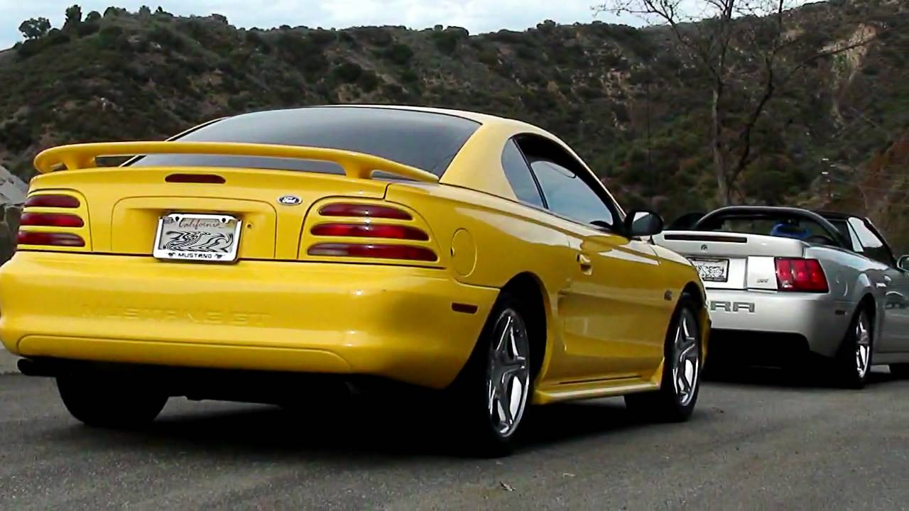 1995 mustang gt 5 0 in hd youtube