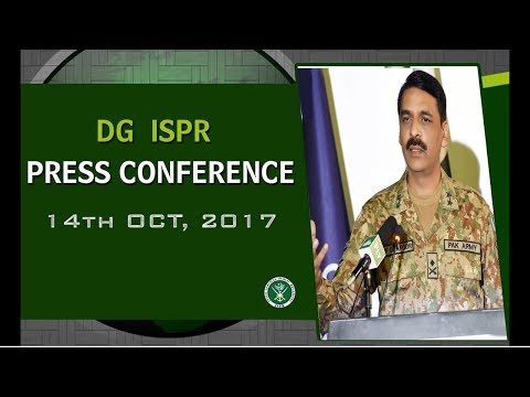 DG ISPR's Press Release - 14 October, 2017