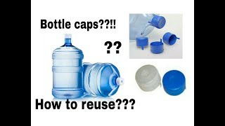 How to Reuse/recycle the Waste water bottle caps/Best out of waste
