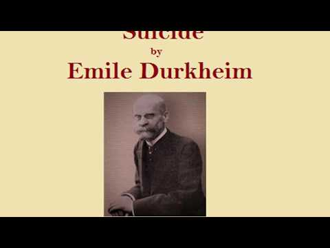 durkheims study of suicide Durkheim in his classical study of 'le suicide' which was although durkheim's theory of suicide has contributed much about the understanding of the.