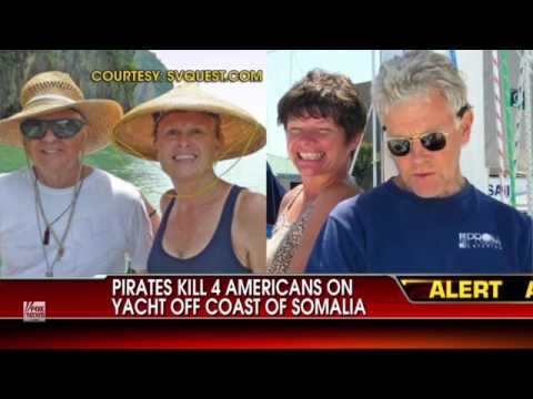 Four Americans Captured by Somali Pirates Killed
