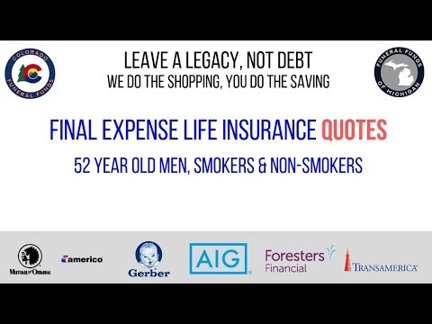 Foresters Quick Quote >> Funeral Insurance Video Rate Quotes Final Expense 101