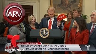 La Casa Blanca consideraría legalizar inmigrantes sin delitos | Al Rojo Vivo | Telemundo