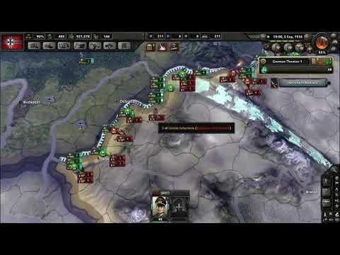 Hoi4 German World Conquest Part 1 Timelapse